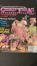 Country Folk Art March 1996 Craft Magazine #70
