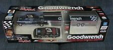 GOODWRENCH EARNHARDT RACING TEAM REPLICA CREW CAB TRUCK BANK TRAILER CAR NSCR001