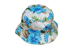Bucket Hat Boonie Flower Hunting Summer Fishing Outdoor Cap Unisex 100% Cotton