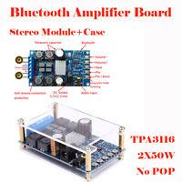 50W*2 Bluetooth Digital Amplifier Board Module 2 Channel Amplifier Board Set New