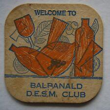 BALRANALD D.E.S.M. CLUB COASTER