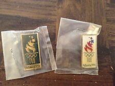 Two 1996 Olympic pins