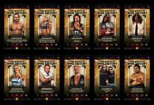 Topps WWE Slam '20 This month on WWE History! Base 10 card set --DIGITAL--