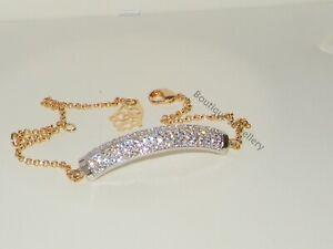 Gold Bar bracelet bangle,Cz sparkling chain bracelet,Wedding bridal.adjustable