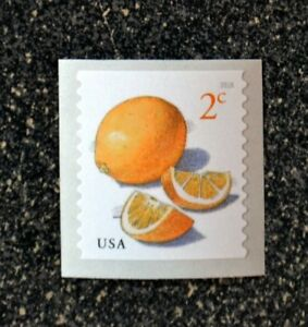 2018USA #5256 2c Meyer Lemons - Coil Single  Mint  NH    lemon fruit