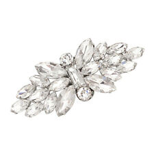 1 Pc Butterfly Rhinestone High-Heel Shoe Clips Wedding Bridal Crystal Removable