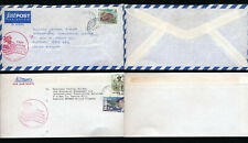 SOLOMON ISLANDS AIRMAIL VISIT SOUTH PACIFIC 1995 ADVERTISING CACHET 2 ENVELOPES