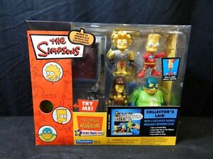 2003 PLAYMATES THE SIMPSONS XENA TREEHOUSE OF HORROR COLLECTOR'S LAIR 141893