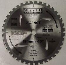 "Original Overtime 007-1/4 x 40T Circular Saw Blade 5/8"" Arbor 10Pack Japan"