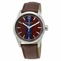 Hamilton Broadway Day Date Brown Dial Automatic 42mm Men's Watch H43515875