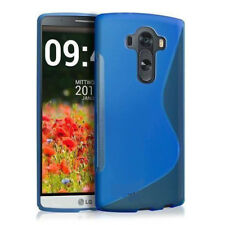 LG G4 V10 Bumper Pouch Rubber Cover Blue