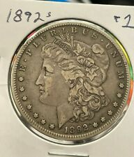 "1892-S Morgan Dollar                          ""XF+"""