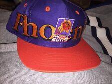 Vintage SnapBack Phoenix Suns Logo 7 NWOT NBA hat 90s Athletic Wrap Script