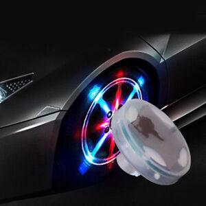Car Colorful LED Solar Energy Flash Wheel Tire Air Valve Cap Lamp Accessories P