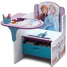 Disney Frozen II Durable Chair Desk with Storage Bin by Delta Children