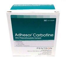 Adhesor Carbofine Zinc polycarboxylate Dental Cement 80g powder + 40g liquid