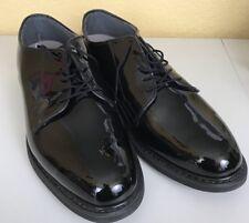 Men's Bates High Gloss Uniform E00941, Size: 5 E, Black