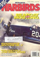 AP WARBIRDS V15 N4 WW2 RCAF BOMBER COMMAND HP HALIFAX_F8F_AVRO ANSON_SPIT Mk.V