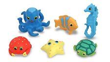 Seaside Sidekicks Water Toys Kids Ocean Creature Set Beach Sandbox Bath New