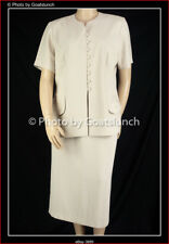 Vintage Plus Size Skirt Suit Size 18 Mother of the Bride Wedding Races Event