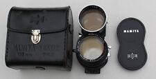 Mamiya-Sekor Super F/4.5 180mm Lens w/ Case C330 C220 Japan TLR Telephoto