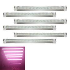 6 Pcs Full Spectrum LED Grow Light T8 Tubes Indoor Plant Growing Strip Lamp