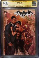 9.8 CGC SS BATMAN #50 Wedding Yancy St Comic Dawn McTeigue Variant Signed