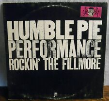 Humble Pie Performance Rockin the Fillmore Vinyl 2xLP German Ed A&M Records 1971