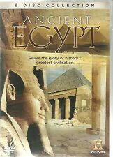 ANCIENT EGYPT - 6 DVD BOX SET - ALEXANDRA, RAMSES II, BOOK OF THE DEAD & MORE