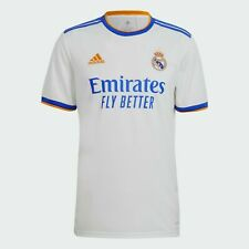 More details for new real madrid home shirt 2021/2022 football jersey