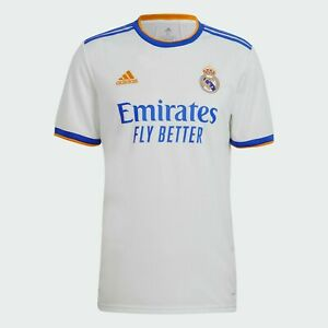 New Real Madrid Home Shirt 2021/2022 Football Jersey