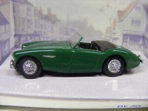 Dinky 1/43 DY30 1956 Austin Healey 100 BNZ Green