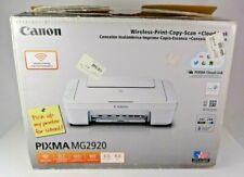 Canon Pixma MG2920 All-In-One Inkjet Wireless Printer Scanner Copier - Open Box