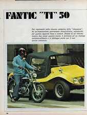 Z20 Ritaglio Clipping del 1972  TI 50 Fantic Motor