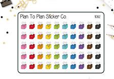 1082~~Tissue Box/Sick Day Planner Stickers.