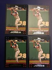 2007 Topps - 314 ANDRUW JONES 2006 N.L. Gold Glove Atlanta Braves Lot 4 Cards