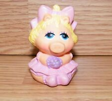 "Vintage 1985 Genuine Avon Small 2"" (inch) Miss Piggy Finger Puppet Figurine Only"