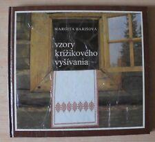 Vzory Krizikoveko vysivania – tschechisches Sachbuch für Kreuzstich DDR 4 Bilder