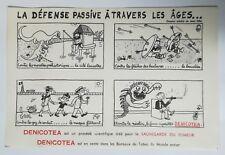 BUVARD - DENICOTEA la défense passive a travers les ages, par JEAN EFFEL
