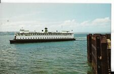 m.v. enetai washington state ferries postcard1960s era