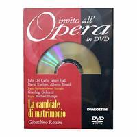 La cambiale di matrimonio - Invito all'Opera in DVD - Deagostini DL004628