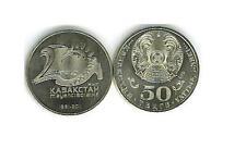 KAZAKHSTAN 3-DIFF 2011-2 UNCIRCULATED 50 TENGE COMMEMORATIVE COINS