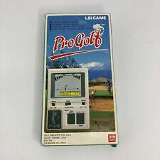 Bandai Pro Golf Handheld Video Game 1984 Japan PGA - Complete Vintage