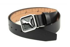 PUMA Cintura Cut-To-Length Square Belt W110 Black