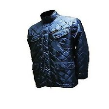 Heated Padded Jacket Battery Powered Walking Football Fishing New BLUE