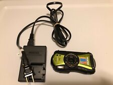 PENTAX OPTIO WG-1 14amp GPS HDMI Cold Crushed Proof 33 Ft Water 4.9 Ft Shock Pro