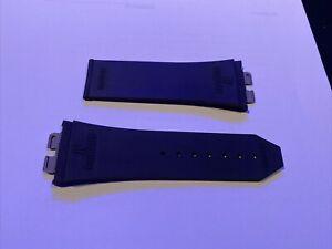 Hublot Kautschukband 28mm , schwarz, 6-401-100 / 12-401-80