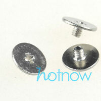 M6 x 14mm Phillips Pan Head Toolless Thumb Screws Nickel Plated