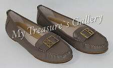 New Calvin Klein Kami Leather Sandals Flats Loafer Shoes Size US 8M