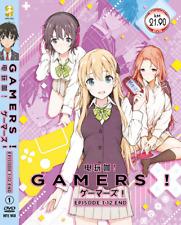 DVD ANIME GAMERS! Vol.1-12 End Region All English Subs + FREE ANIME